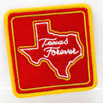 Texas Forever Square Patch