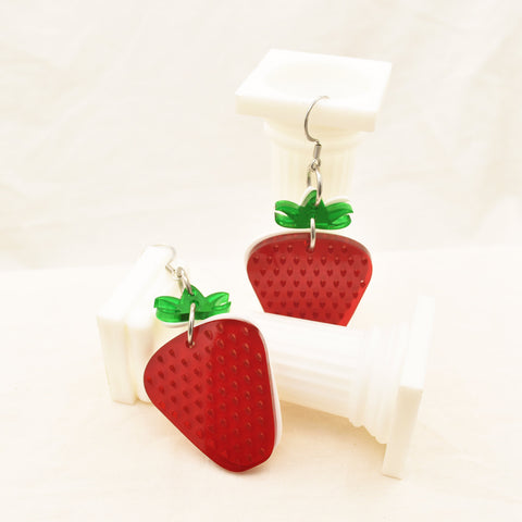 Strawberry Delight Dangle Earrings