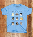 Types of Cats T-Shirt