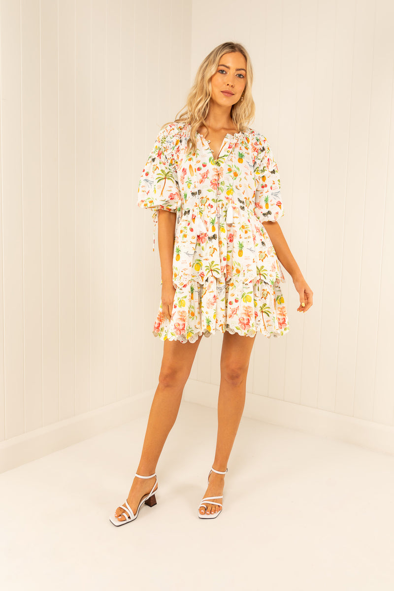 Palm Noosa Cotton Teresa Dress