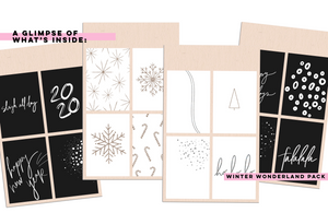 Winter Wonderland Sticker Pack - LIMITED EDITION