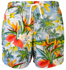 Birds of Paradise Swim Trunks