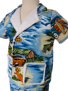 Lil' Woody Wagon Cabana Jacket