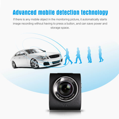 AUSDOM AD109 Car DVR Dash Camera 1296P Ambarella A7 Chip (Sell in USA Only)