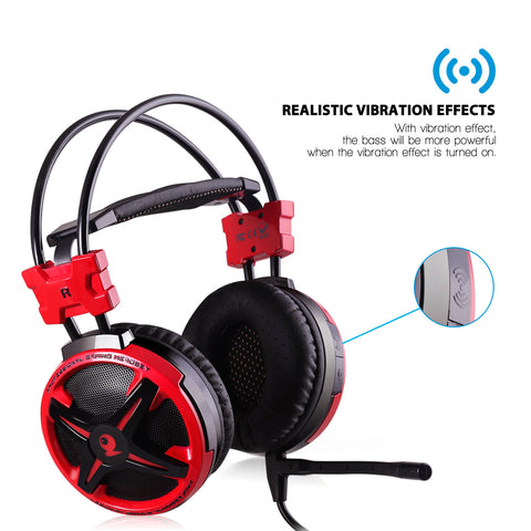 AUSDOM AGH2 Stereo Gaming Headsets with 7.1 Virtual Surround Sound (Sell in USA Only)