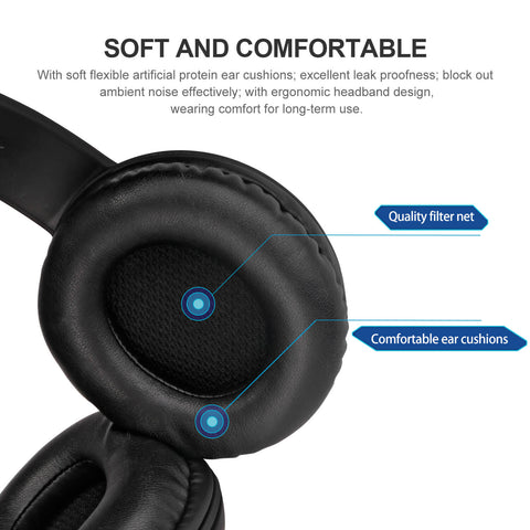 AUSDOM AH850S Wireless Bluetooth Headphones (Sell in USA Only)