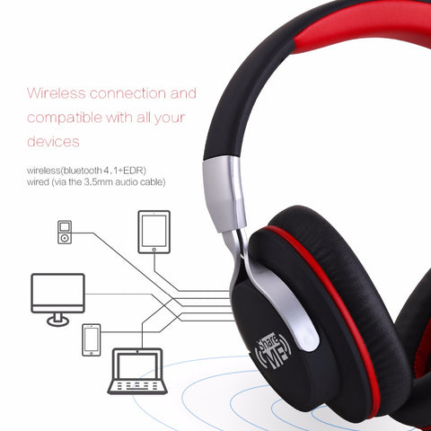AUSDOM AH861 ShareMe Bluetooth V4.1 Headphones
