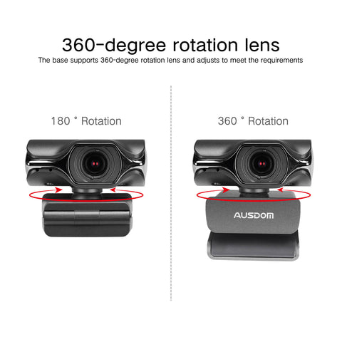 AUSDOM AW620 1080P Webcam for OBS