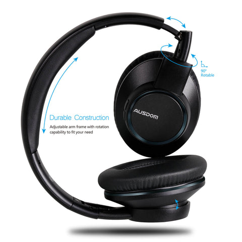 AUSDOM H8 Bluetooth Headphones with Shareme Function (Sell in USA Only)