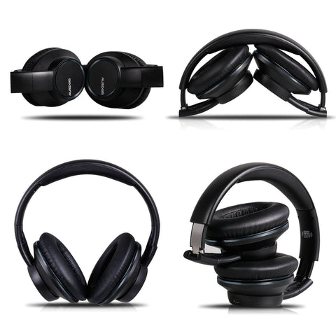 AUSDOM H8 Foldable Wireless Bluetooth Headphones with Shareme Function (Sell in USA Only)
