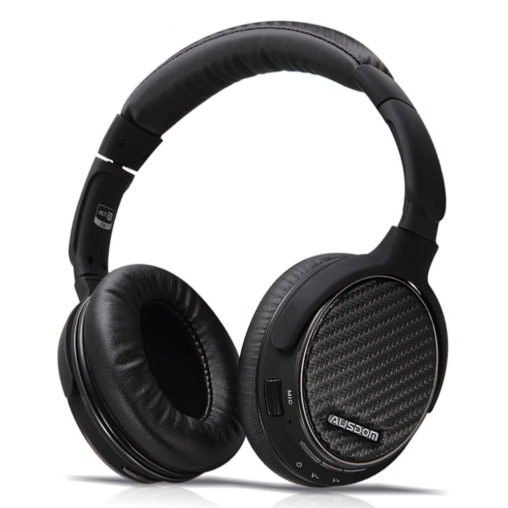 AUSDOM M05 APTX Over-Ear Bluetooth Stereo Headphones