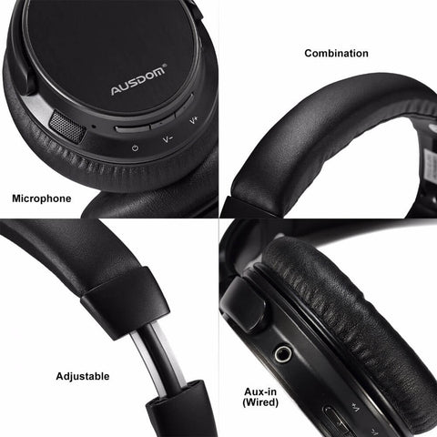 AUSDOM M06 Bluetooth EDR Headphones (Sell in the USA Only)