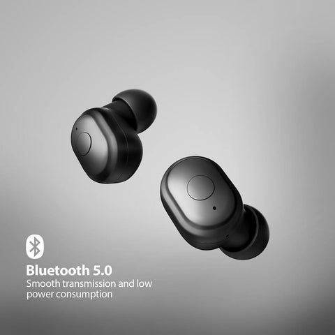 Ausdom TW01 True Wireless Bluetooth 5.0 Stereo Earbuds with CVC8.0 Noise Cancelling