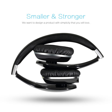 AUSDOM M07 Stereo Wireless Bluetooth 4.0 Headphones with Mic (Sell in USA Only)