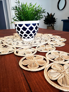 Milagros - Iraca Palm Authentic Natural Table Runner Wholesale