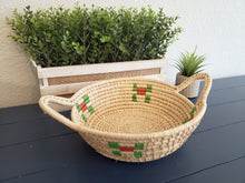 Load image into Gallery viewer, Iraca Basket Natural and Colors Wholesale