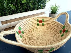 Iraca Basket Natural and Colors Wholesale