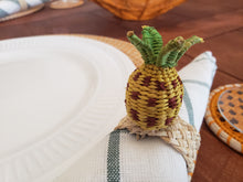 Load image into Gallery viewer, Tropical Fruits Iraca Handmade Colorful Napkin Rings Wholesale