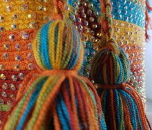 Load image into Gallery viewer, Alexa - Wayuu Authentic Mochila Bag with Crystals Wholesale