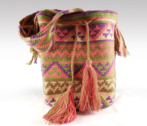 Amelia - Wayuu Authentic Mochila Bag