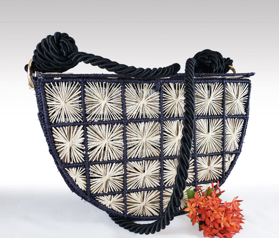 Cristina -  Iraca Palm Handmade Bag Wholesale