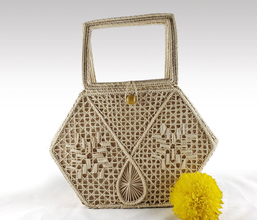 Estrella - Iraca Palm Authentic Handmade Handbag