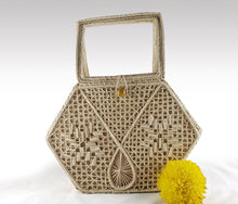 Load image into Gallery viewer, Estrella - Iraca Palm Authentic Handmade Handbag Wholesale