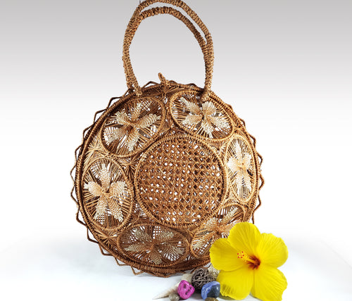 Fernanda - Iraca Palm Authentic Handmade Handbag Wholesale