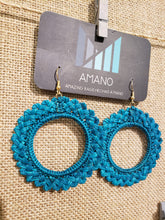 Load image into Gallery viewer, Antonella - Iraca Palm Leaf Handwoven Earrings Wholesale