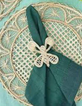 Load image into Gallery viewer, Iraca Handmade Dragonfly Napkin Rings Wholesale