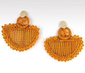 Valentina - Iraca Palm Leaf Handwoven Earrings