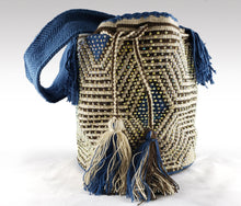 Load image into Gallery viewer, Jennifer - Wayuu Authentic Mochila Bag with Crystals