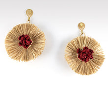 Load image into Gallery viewer, Noelia - Iraca Palm Leaf Handwoven Earrings Wholesale