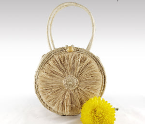 Soraya - Iraca Palm Authentic Handmade Handbag