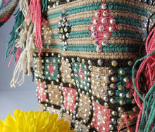 Load image into Gallery viewer, Tatiana - Wayuu Authentic Mochila Bag with Crystals Wholesale