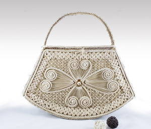 Zia- Iraca Palm Authentic Handmade Handbag Wholesale