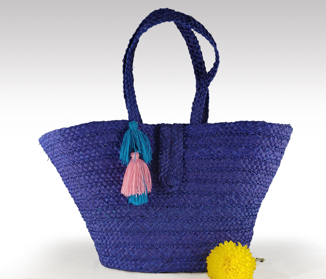 Adriana - Iraca Palm Authentic Handmade Handbag Wholesale