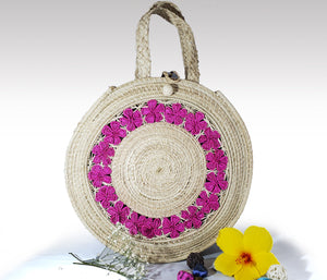 April -  Iraca Palm Handmade Bag