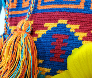 Daila - Wayuu Authentic Mochila Bag