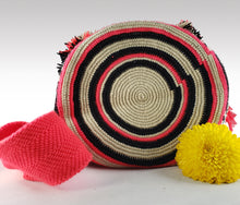 Load image into Gallery viewer, Dulce - Wayuu Authentic Mochila Bag with Crystals Wholesale