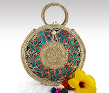 "Load image into Gallery viewer, ""Primavera"" -  Iraca Palm Handmade Bag"