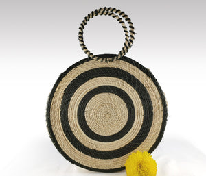 Leah - Iraca Palm Authentic Handmade Handbag Wholesale