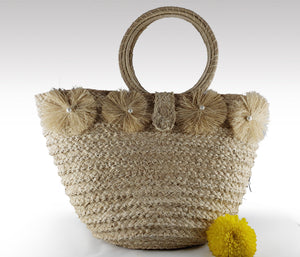 Ludy - Iraca Palm Authentic Handmade Handbag Wholesale