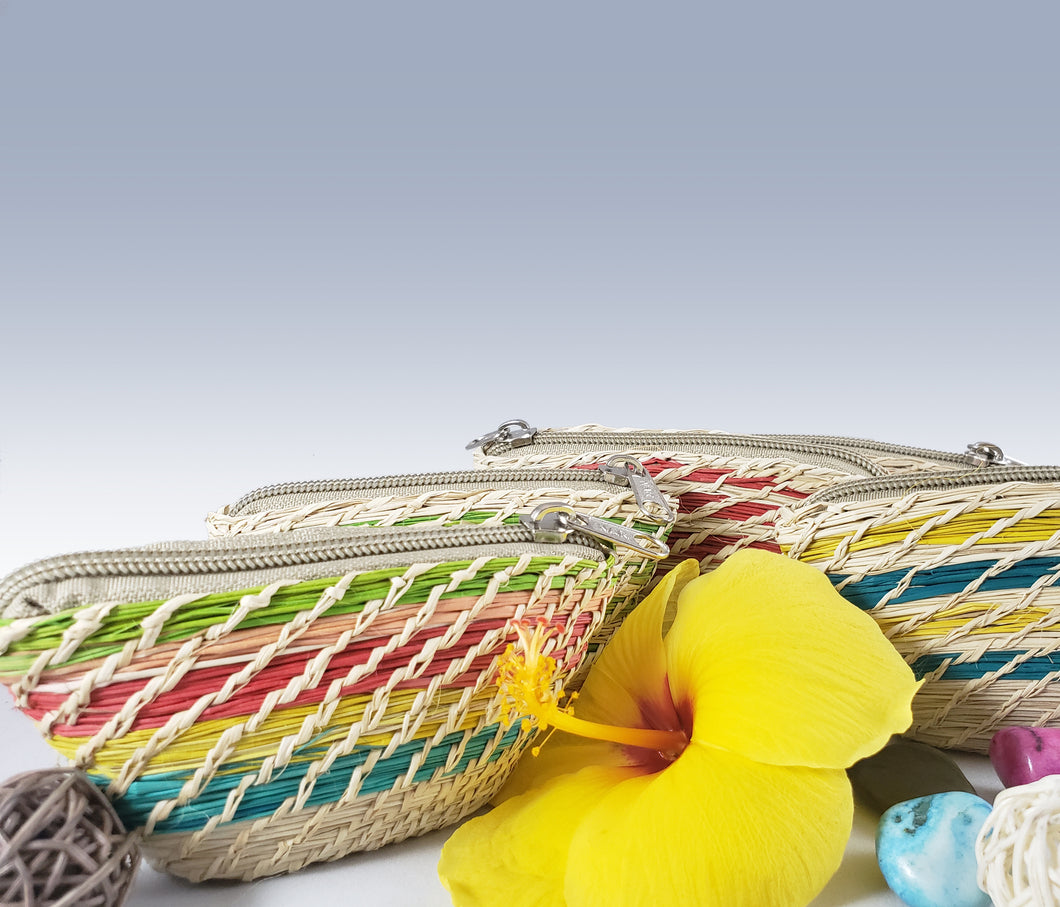 Small Iraca Palm Handmade Coin Purses Pack of 12 Wholesale