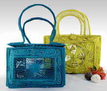 Load image into Gallery viewer, Geometricas - Mommy and Me Matching Iraca Palm Handbags Wholesale