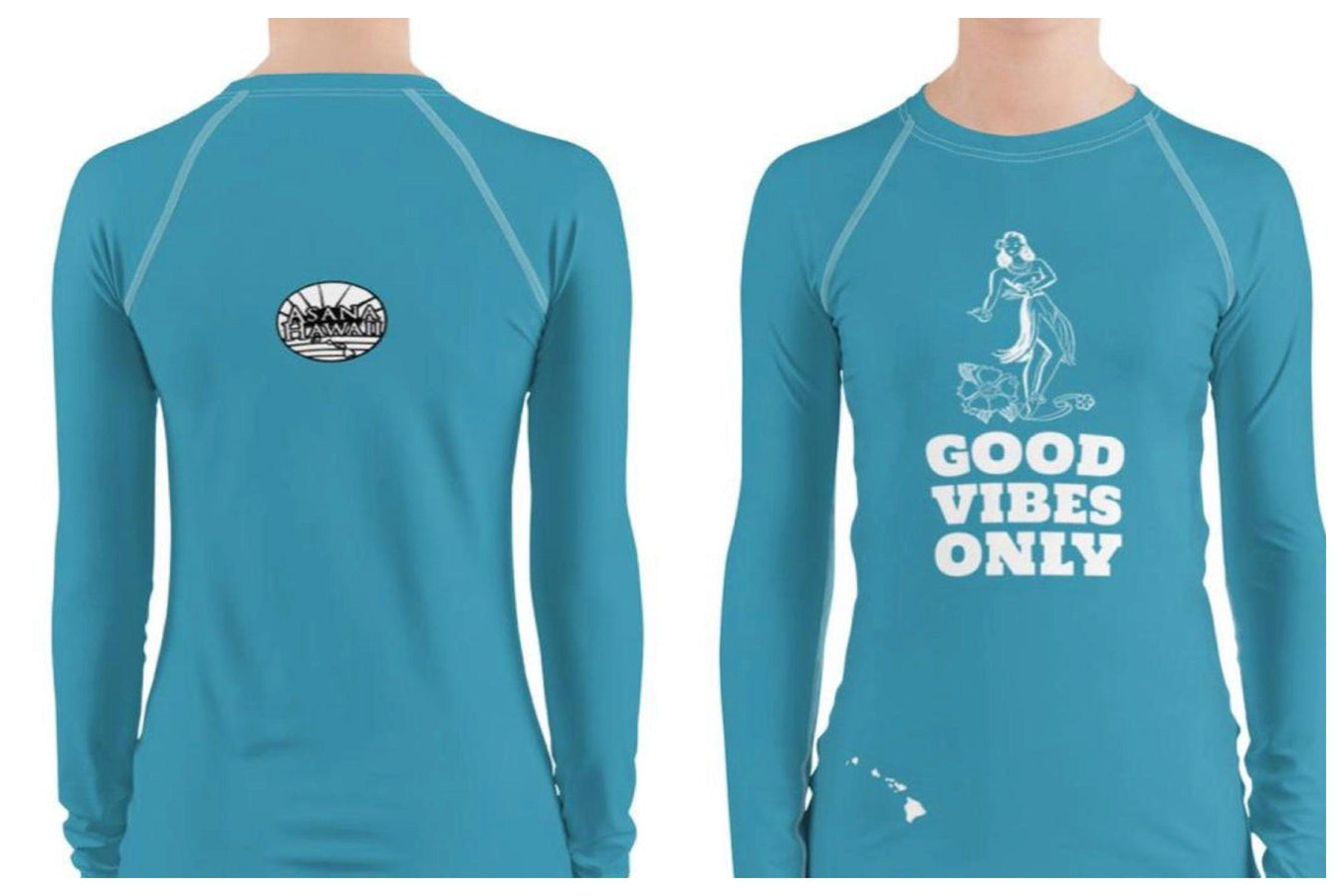 Good Vibes Only Rash Guards