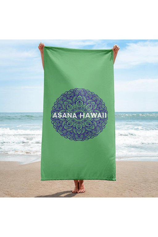 Asana Hawaii Beach Towel Asana Hawaii Mandala Beach Towel