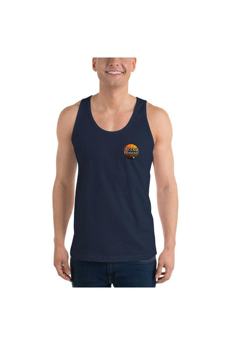 Asana Hawaii Tank Tops Navy / XS Asana Hawaii Rise of Zen Classic tank top (unisex)