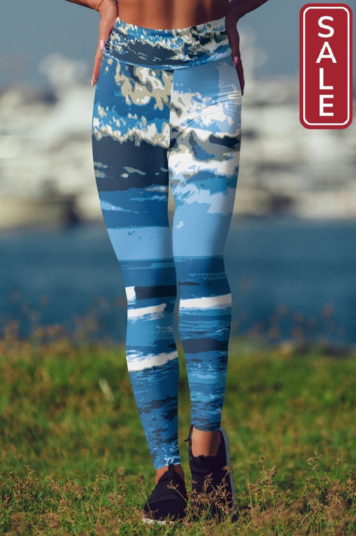 Asana Hawaii Yoga Leggings XS Banyan's Camo Yoga Leggings