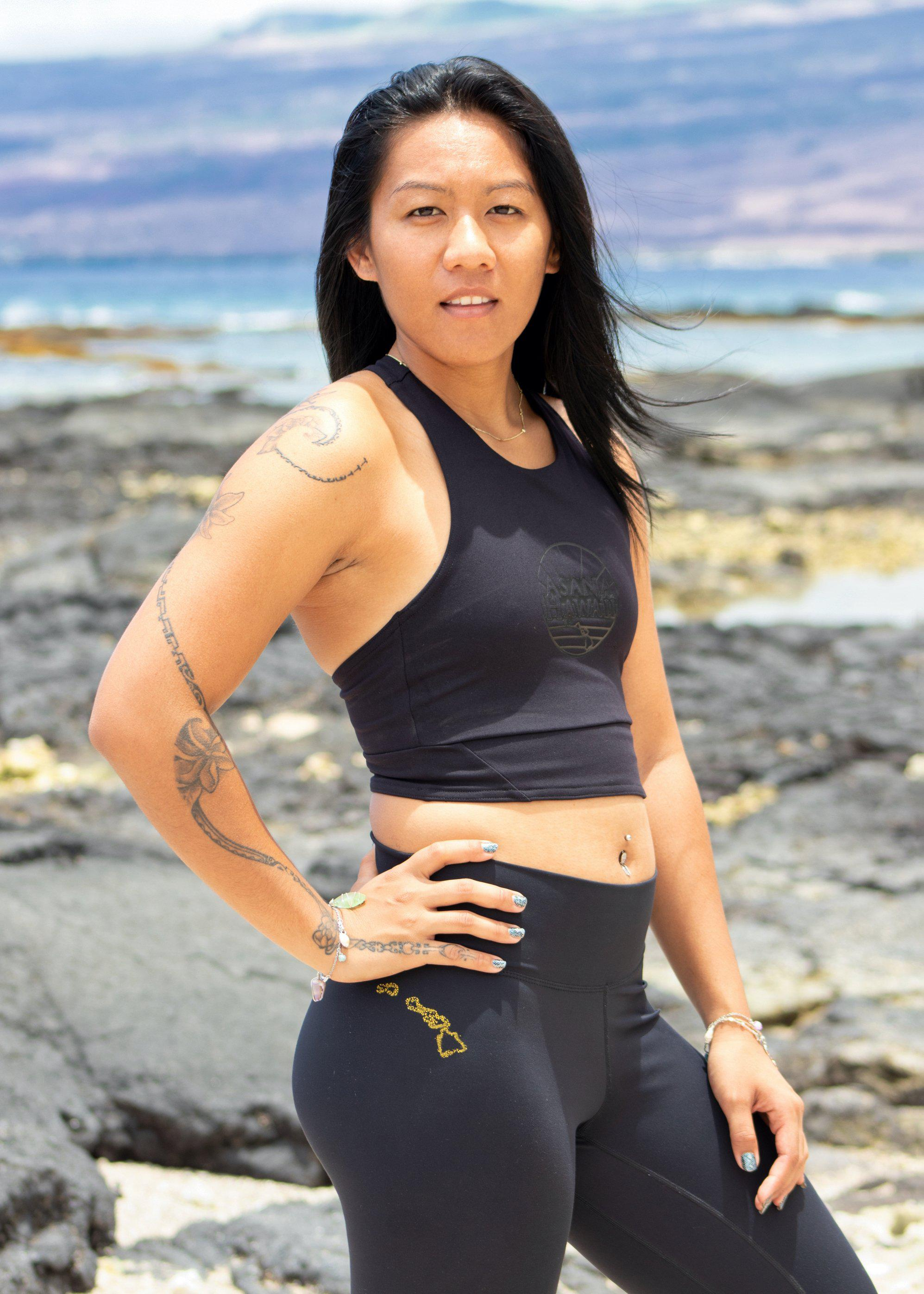 Asana Hawaii Loko Wai Sports Bra